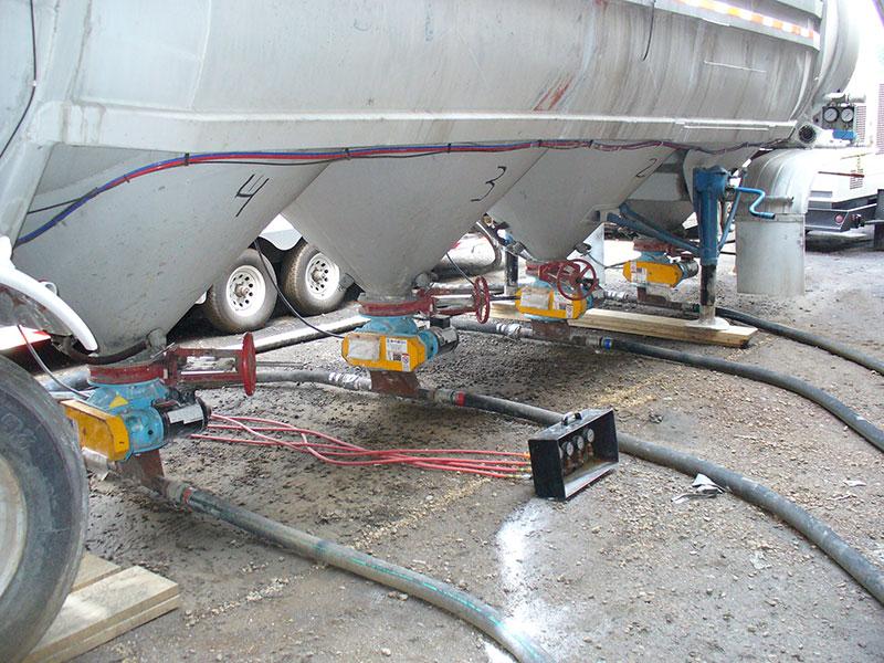 Bulk Injection System Rotary Valves